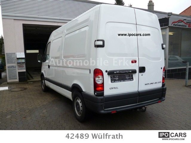2004 opel movano 2 5 cdti l2h2 green umweltplakette car. Black Bedroom Furniture Sets. Home Design Ideas