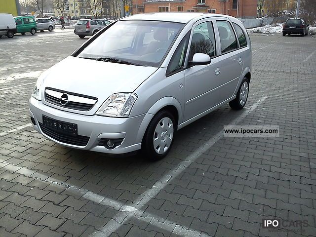 2006 opel meriva car photo and specs. Black Bedroom Furniture Sets. Home Design Ideas