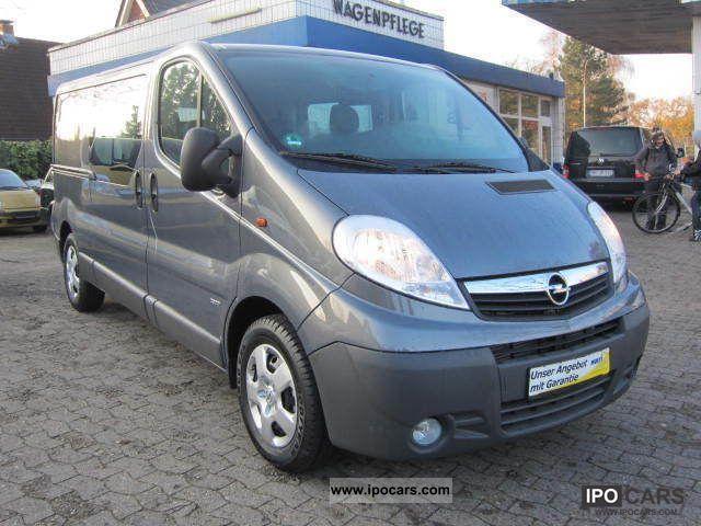 2011 Opel  Vivaro 2.5 CDTI Long Easytronic 5 people + truck Van / Minibus Demonstration Vehicle photo