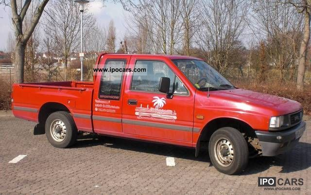 1992 opel pick up truck campo approval car photo and specs. Black Bedroom Furniture Sets. Home Design Ideas