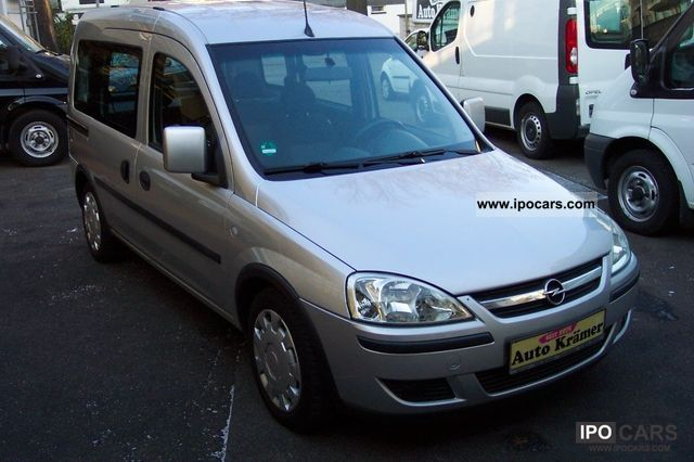 2008 opel combo 1 7 cdti air edition car photo and specs. Black Bedroom Furniture Sets. Home Design Ideas