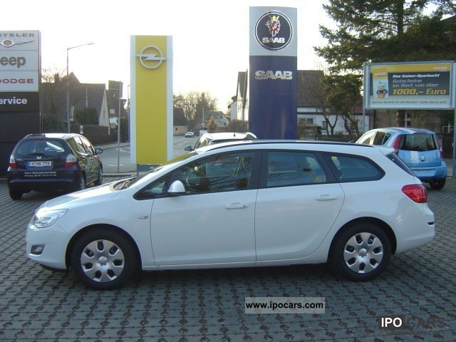 2012 Opel Astra 1.3 CDTi Sports Tourer / Start - Stop - Car Photo and ...