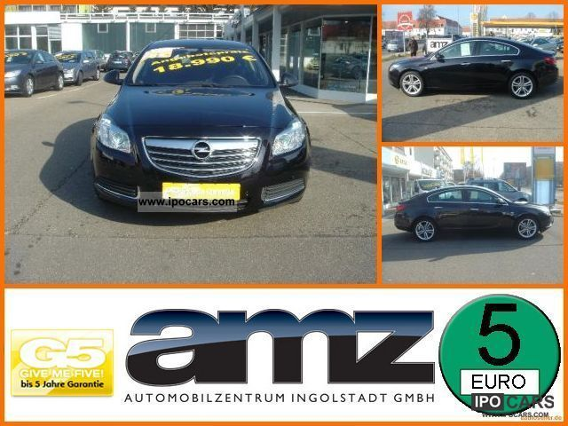 2009 Opel  Insignia 1.8 Cosmo Navi Xenon Headlights SHZ Limousine Used vehicle photo
