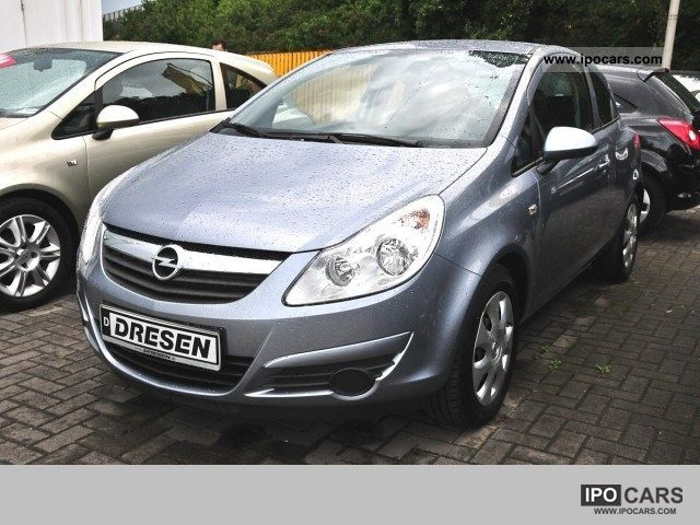 2010 Opel  Edition Corsa 3-door 1.0 TW - Climate, Limousine Used vehicle photo