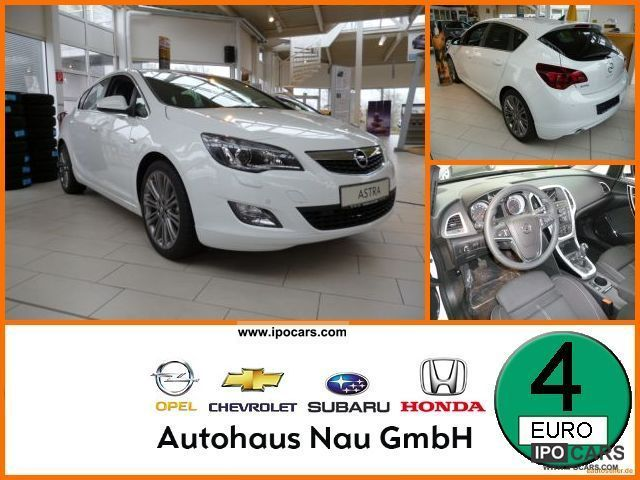 2012 Opel  Astra Sport AFL, start / stop, LM-19-inch wheels, Limousine Used vehicle photo