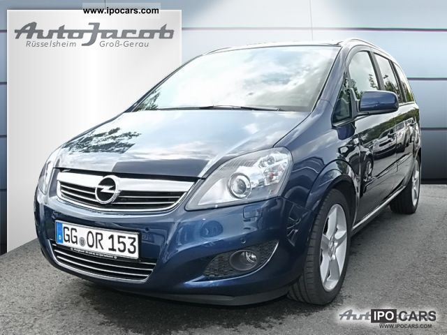 2011 opel zafira 1 7 cdti ecoflex innovation navi car photo and specs. Black Bedroom Furniture Sets. Home Design Ideas