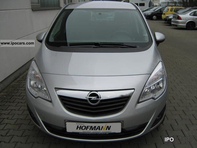 2012 Opel  '' 150 years of Opel Meriva'', 1.4, 74 kW (100 hp) ( Van / Minibus Pre-Registration photo