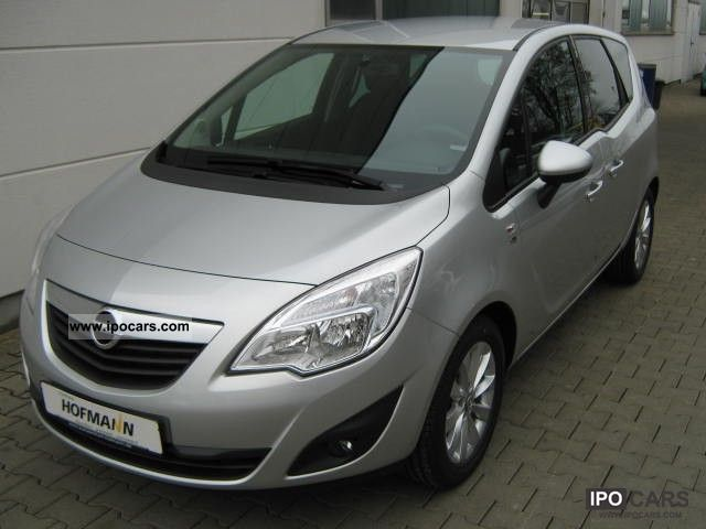 2012 opel 39 39 150 years of opel meriva 39 39 1 4 74 kw 100 hp car photo and specs. Black Bedroom Furniture Sets. Home Design Ideas
