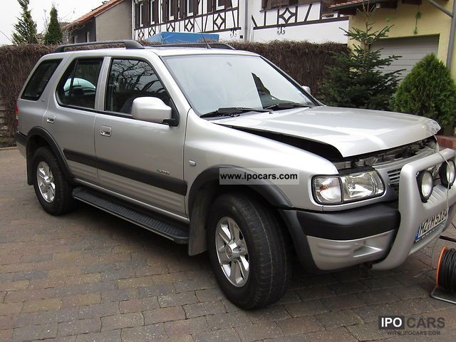 2003 opel frontera 2 2 dti car photo and specs. Black Bedroom Furniture Sets. Home Design Ideas