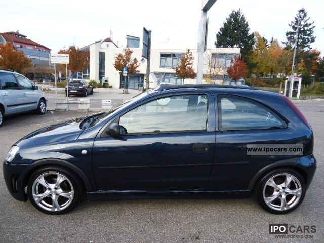 2002 opel corsa 12v sport el faltdach euro 4 alu car photo and specs. Black Bedroom Furniture Sets. Home Design Ideas