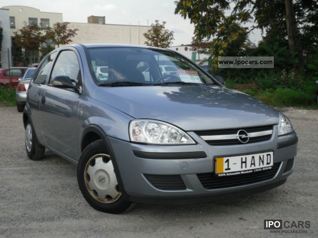 2006 Opel  Corsa 1.0 12V Air Servo ABS ESP accident free Small Car Used vehicle photo