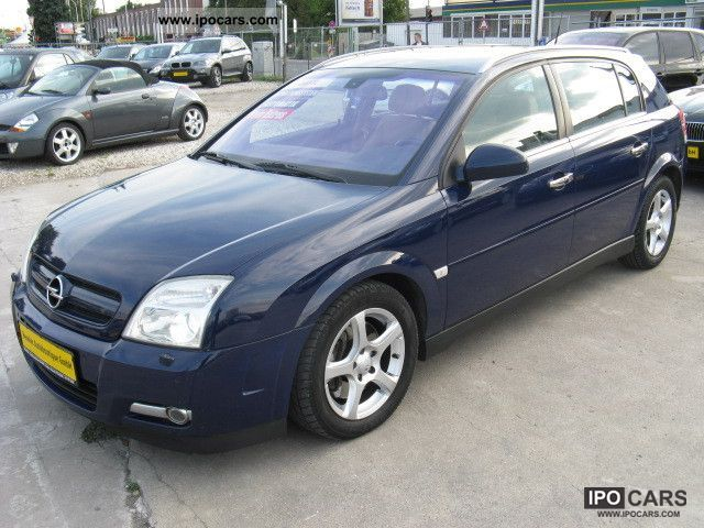 2003 opel signum 3 0 v6 cdti leather navi car photo. Black Bedroom Furniture Sets. Home Design Ideas