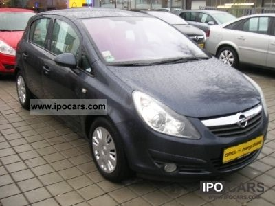 2007 opel corsa 1 2 5 door innovation car photo and specs. Black Bedroom Furniture Sets. Home Design Ideas