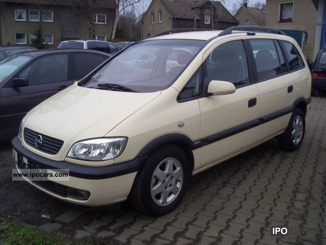 Opel  Elegance Zafira 1.6 CNG 2002 Compressed Natural Gas Cars (CNG, methane, CH4) photo