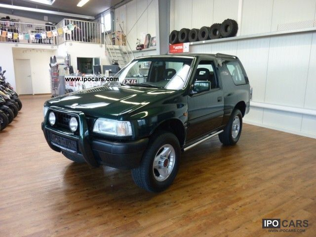 1998 opel frontera 2 0 sport 4x4 arizona climate top condition car photo and specs. Black Bedroom Furniture Sets. Home Design Ideas