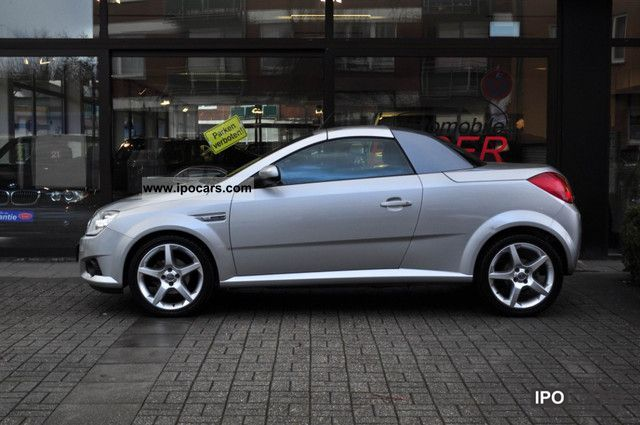 2004 opel tigra twin top 1 4 sport climate leather. Black Bedroom Furniture Sets. Home Design Ideas