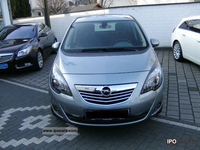 2011 opel meriva b 1 4 innovation car photo and specs. Black Bedroom Furniture Sets. Home Design Ideas