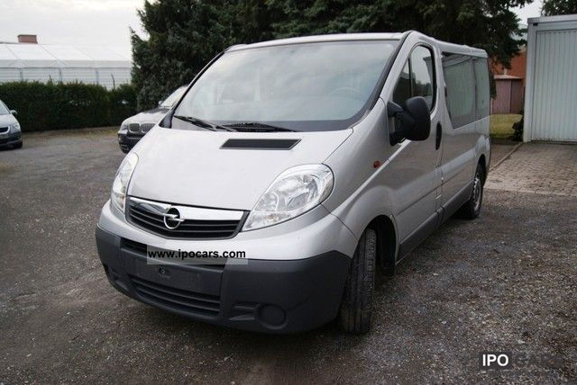 2008 Opel  Vivaro 2.0 CDTI L1H1 Easytronic, air Van / Minibus Used vehicle photo
