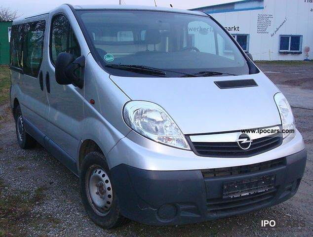 2008 Opel  Vivaro 2.5 CDTI L1H1 Van / Minibus Used vehicle photo