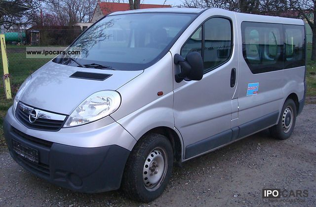 2008 opel vivaro 2 5 cdti l1h1 car photo and specs. Black Bedroom Furniture Sets. Home Design Ideas