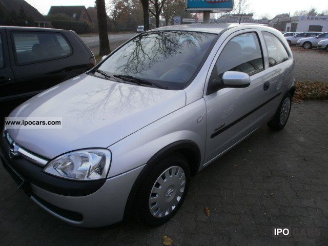2002 opel corsa c 1 0 12v fresh car photo and specs. Black Bedroom Furniture Sets. Home Design Ideas