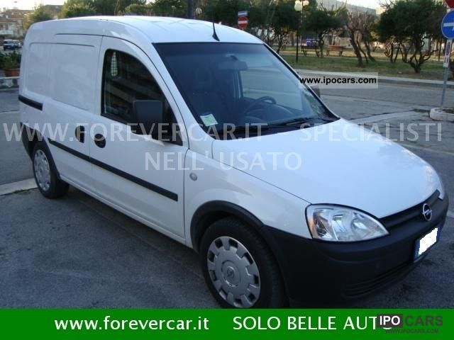Opel  Combo 1.6 CNG EcoMETANO 4Porte 2009 Compressed Natural Gas Cars (CNG, methane, CH4) photo