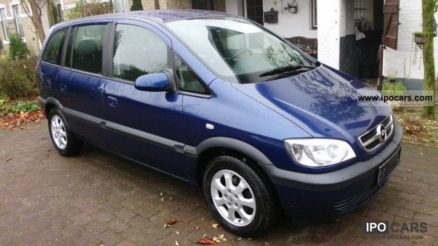 2003 opel zafira dti climate apc 7 seats car photo and specs. Black Bedroom Furniture Sets. Home Design Ideas