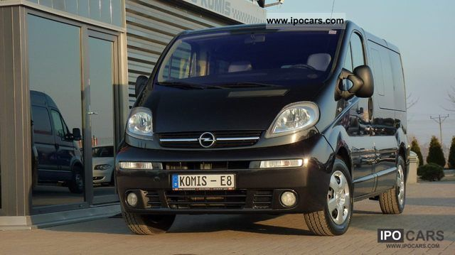 2003 opel vivaro 1 9 dci life westfalia multivan car photo and specs. Black Bedroom Furniture Sets. Home Design Ideas