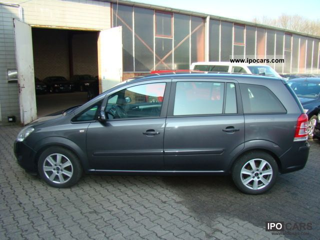 2009 opel zafira 1 7 cdti edition 7 seats car photo and specs. Black Bedroom Furniture Sets. Home Design Ideas