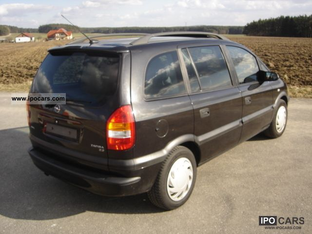 2002 opel zafira 2 2 selection executive full leather climate car photo and specs. Black Bedroom Furniture Sets. Home Design Ideas
