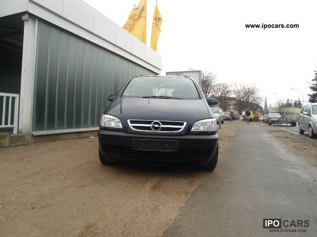 Opel  Zafira 1.6 CNG Executive 2004 Compressed Natural Gas Cars (CNG, methane, CH4) photo