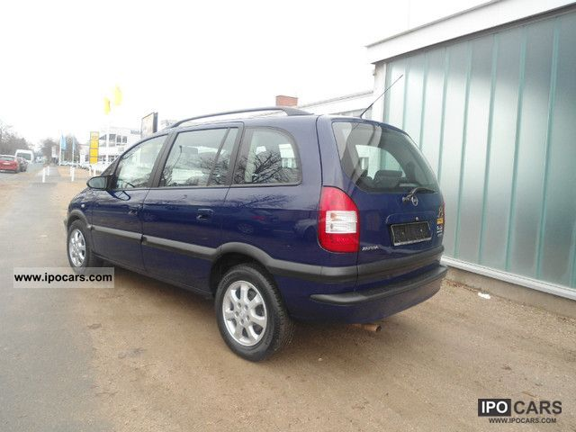 2004 opel zafira 1 6 cng executive car photo and specs. Black Bedroom Furniture Sets. Home Design Ideas