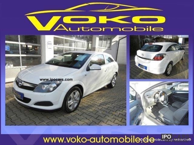 2011 Opel  Astra GTC 1.6 Edition climate control cruise control Sports car/Coupe Employee's Car photo
