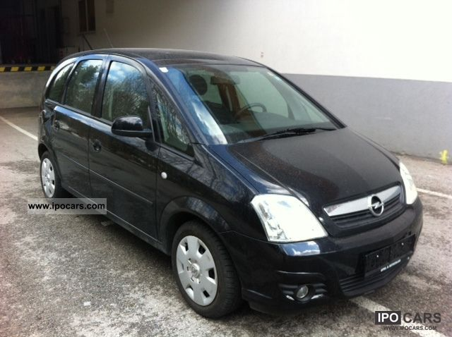 2008 opel meriva 1 4 only air 1 hand car photo and specs. Black Bedroom Furniture Sets. Home Design Ideas