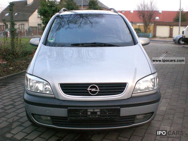 2002 opel zafira 2 2 selection leather navi dvd player car photo and specs. Black Bedroom Furniture Sets. Home Design Ideas