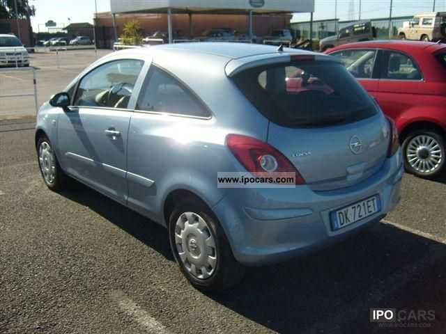 2007 opel corsa 1 2 enjoy three porte car photo and specs. Black Bedroom Furniture Sets. Home Design Ideas
