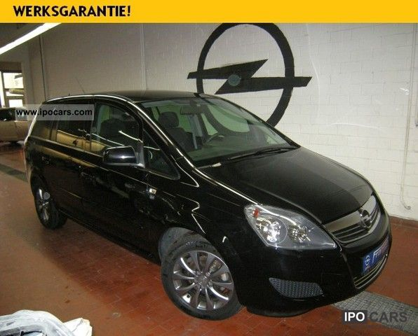 2011 opel zafira b 1 8 edition 111 years car photo and specs. Black Bedroom Furniture Sets. Home Design Ideas