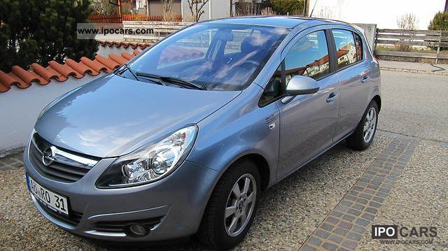 2009 opel corsa 1 2 16v easytronic innovation 110 years car photo and specs. Black Bedroom Furniture Sets. Home Design Ideas