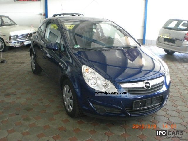 2009 opel corsa d car photo and specs. Black Bedroom Furniture Sets. Home Design Ideas