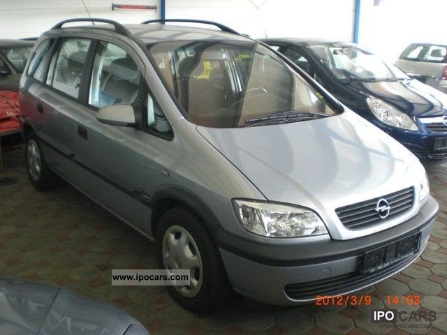 2002 opel zafira a car photo and specs. Black Bedroom Furniture Sets. Home Design Ideas
