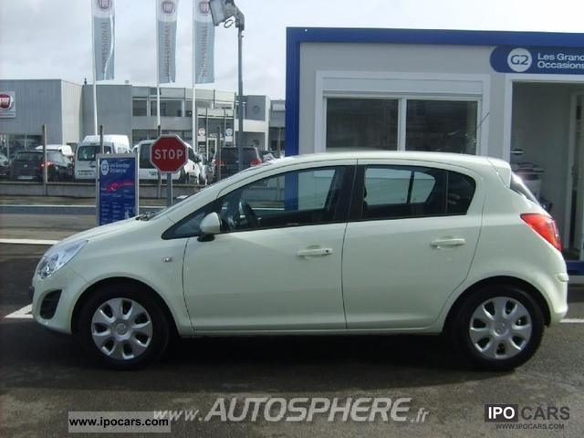 2011 opel corsa 1 2 twinport edition 5p car photo and specs. Black Bedroom Furniture Sets. Home Design Ideas