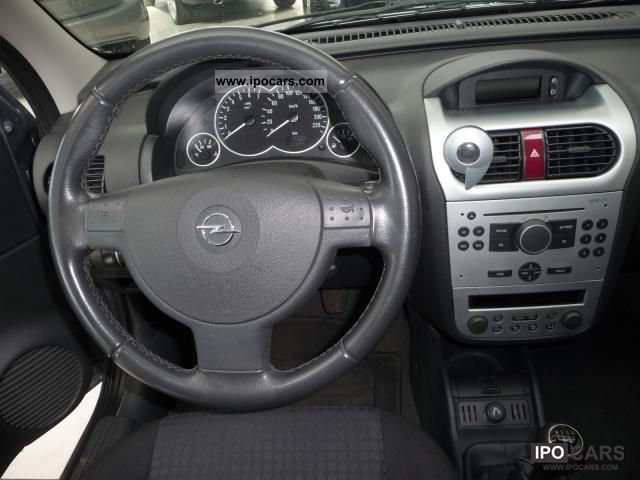 2005 opel corsa c 1 2 3t climate control car photo and specs. Black Bedroom Furniture Sets. Home Design Ideas