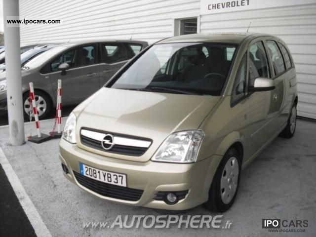2007 opel meriva 1 7 cdti enjoy car photo and specs. Black Bedroom Furniture Sets. Home Design Ideas