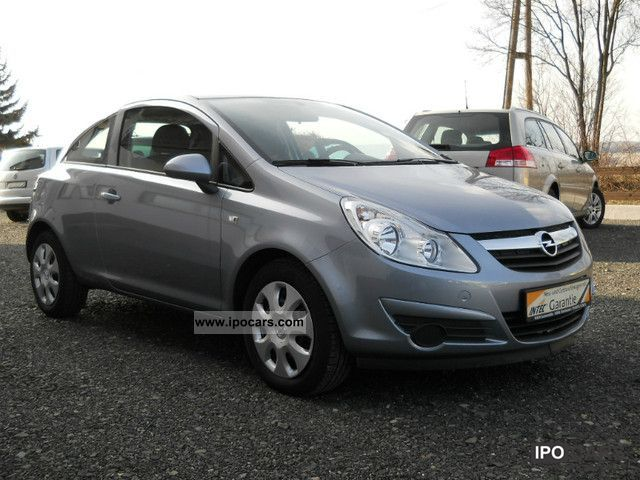 2009 opel corsa 1 2 16v car photo and specs. Black Bedroom Furniture Sets. Home Design Ideas