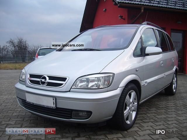 2004 Opel  Zafira pełna OPCJA Estate Car Used vehicle photo