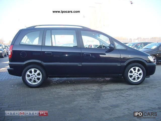 2003 opel zafira stan bdb car photo and specs. Black Bedroom Furniture Sets. Home Design Ideas