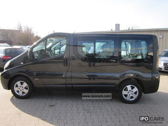 2005 opel vivaro l1h1 2 5cdti tour car photo and specs. Black Bedroom Furniture Sets. Home Design Ideas