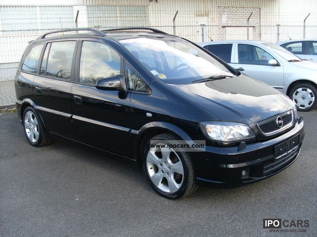 2003 opel zafira 2 2 dti opc line xenon 3 7 seat. Black Bedroom Furniture Sets. Home Design Ideas