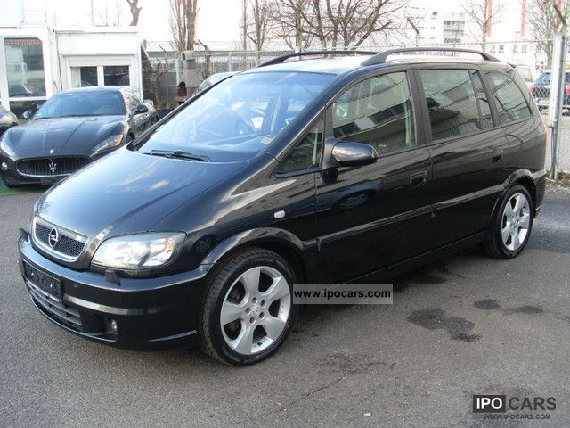 2003 opel zafira 2 2 dti opc line xenon 3 7 seat car photo and specs. Black Bedroom Furniture Sets. Home Design Ideas