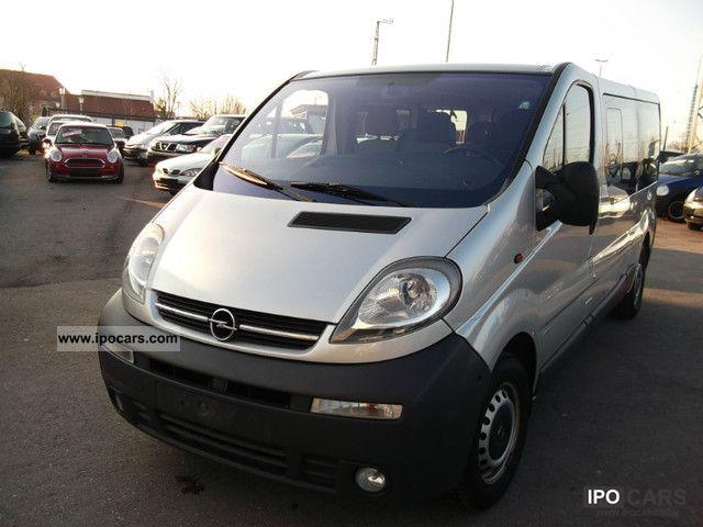 2003 Opel  1.9 CDTI Vivaro 9 Seater Van / Minibus Used vehicle photo
